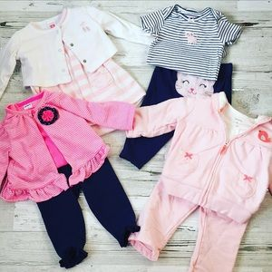 Set Of 4 Baby Outfits
